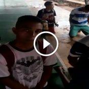 Essa escola do Mato Grosso, descobriu um jeito especial para disciplinar os alunos maconhosos