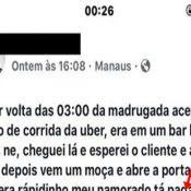 O curioso caso do motorista do Uber, que presenciou uma traição