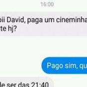 David é o amigo que toda mulher queria ter