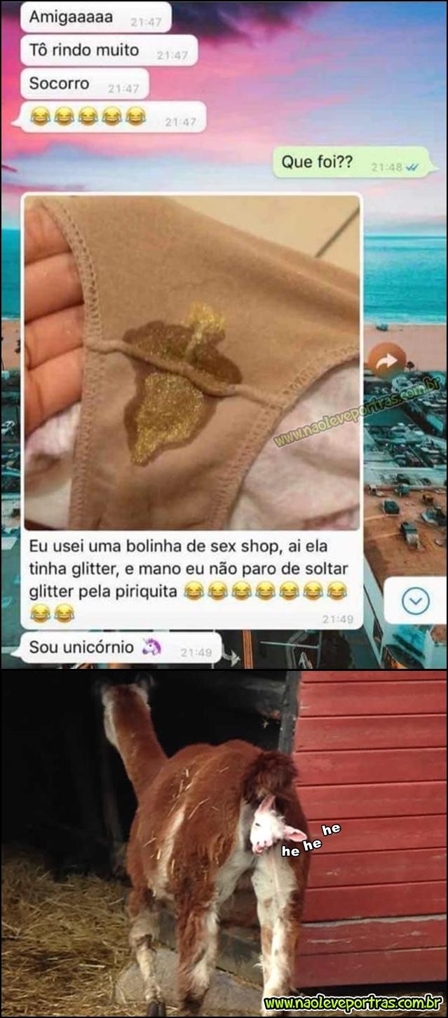 Tem Na Web - Glitter na piriquita