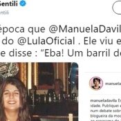 Manuela, quem te viu quem te vê