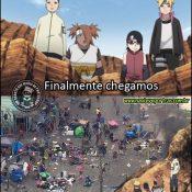 Eis que o Naruto chega em São Paulo