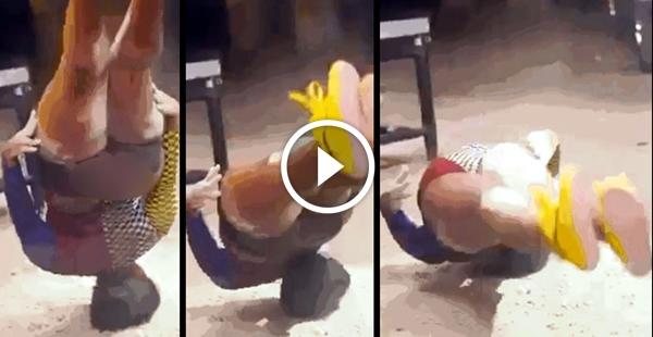 Dançarina quase morre com pescoço quebra e fatura US$ 25 mil