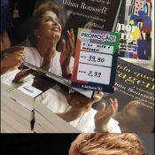 Ai você descobre que a Dilma tem um livro