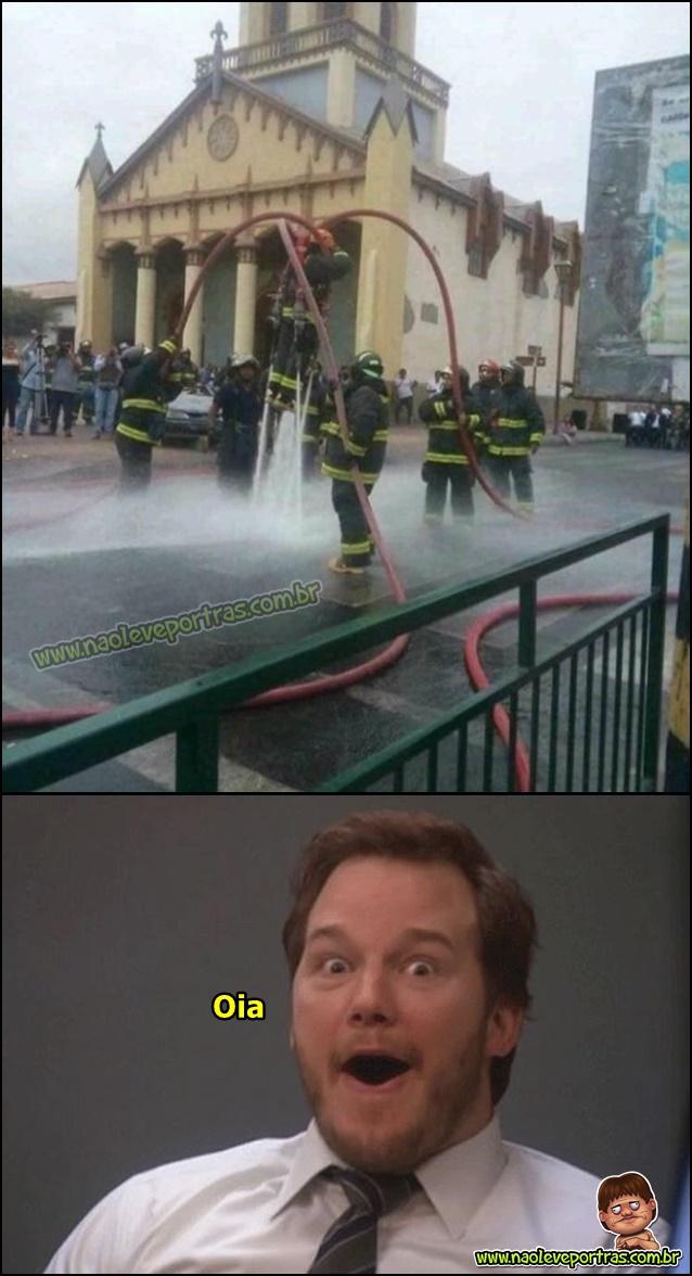 O que os bombeiros fazem enquanto estão de boa