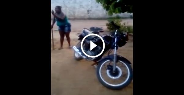 Queria saber o que essa moto fez de tão grave!