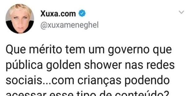 Bolsonaro vs Xuxa
