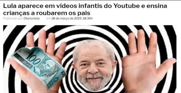 Muito cuidado com o boneco Lula Momo!