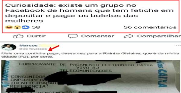 O peculiar grupo de pagadores de boletos do Facebook