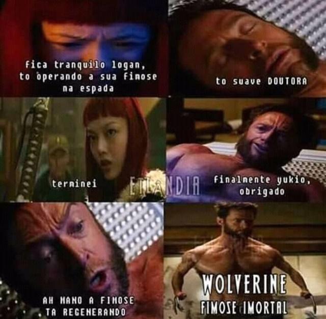 O lado ruim de ser o Wolverine