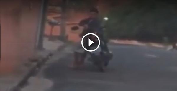 Atirador de Sniper é flagrado dessa vez atuando em Várzea Grande
