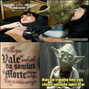 Yodas tatoo