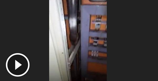 Faltou energia no banco Itaú de Manaus , os eletricistas foram verificar e era um probleminha besta!