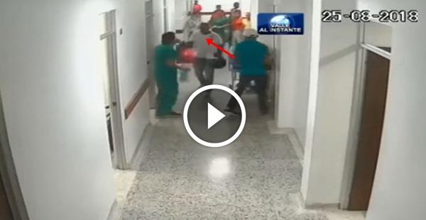 Negão anabolizado querendo seringas no hospital