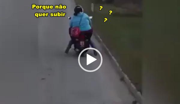 O curioso caso da moto que não aguentava subir ladeiras, mas não se sabe o porque!