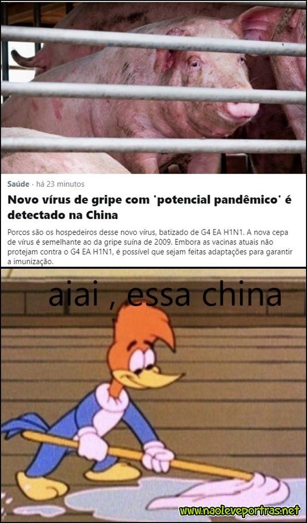 Essa china não tem geito