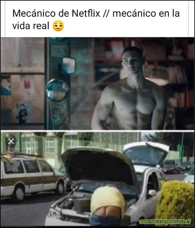 Netflix // vida real
