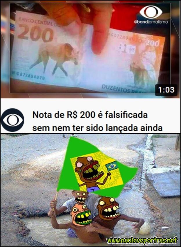 Brasileiro sempre um passo a frente